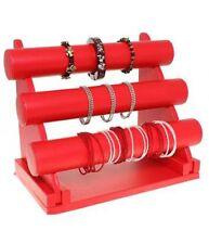Porte-bracelets et montres présentoir à bijoux 3 barres colliers bracelets
