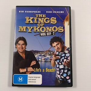 Wog Boy 2 - Kings Of Mykonos (DVD, 2010) Vince Colosimo Nick Giannopoulos Reg 4