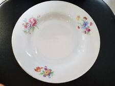 VINTAGE BAVARIA CHINA PT TIRSCHENREUTH 100 GERMANY SOUP SALAD BOWL 8 3/8""