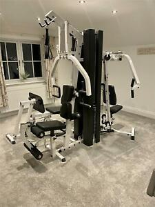 BODY SOLID MULTI GYM - WEIGHTS - HOME GYM - EXERCISE - EXCELLENT CONDITION