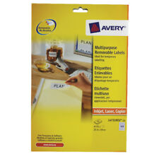 Avery Removable Labels L4731REV-25