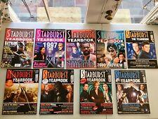 Starburst Magazine Lot Of 9 Star Trek Yearbook Issues VG