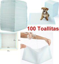 Pack 100 Toallitas empapadores de entrenamiento para mascotas perros, 56 x 56 cm