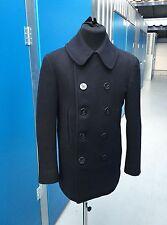 USN WW2 Pea Coat US Navy WW2 Pea Coat 1940s Pea Coat Vtg Reefer Jacket 1940s