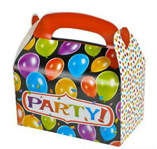 48 PARTY TREAT BOXES FAVORS GOODY BAGS BAZAAR PRIZE GIFT BASKET BABY SHOWER