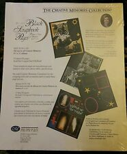 Creative Memories 8 1/2 × 11 scrapbook page refills Black
