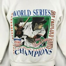 San Francisco Giants Sweatshirt Vintage 80s 1989 World Series Champions Small