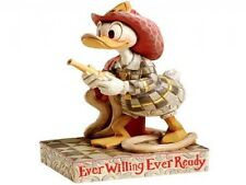 Jim Shore Pompiere Donald Duck Disney Traditions Ever Willing Ever Ready 4006880