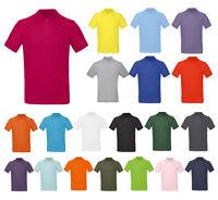 Herren Pique Polo Shirt Bio Baumwolle kurzarm Poloshirt