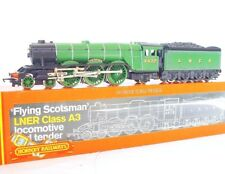 Hornby OO HO A3 FLYING SCOTSMAN 4472 STEAM LOCOMOTIVE Super Detail! MIB`85 RARE!