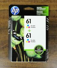 New In The Sealed BOX Genuine HP 61 hp 61 Tri-color Ink Combo Expires 2020