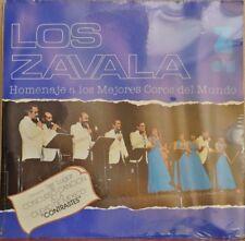 LOS HERMANOS ZAVALA HOMENAJE A LOS MEJORES COROS MEXICAN LP STILL SEALED CHORUS