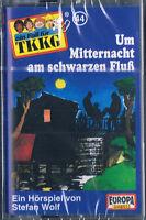 Tkkg 44-Um Mitternacht am Schwarzen Fluß Neuware Musikkassette Hörspiel