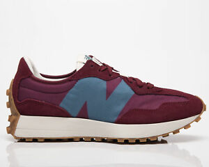 New Balance 327 Men's Garnet Natural Indigo Low Casual Lifestyle Sneakers Shoes
