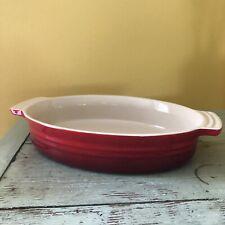 Red Le Creuset Baking Casserole Au Gratin Dish #0305