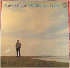 Hannes Wader, Plattdeutsche Lieder, VG/VG, LP (5809)