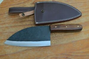 hand forged carbon steel kithen cleaver From the Eagle collection 8639ASM