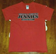 Ucm University of Central Missouri Jennies Basketball T-Shirt Adult S Red Mules