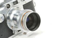Rare aperture setting & lens hood for Leica Elmar 50mm, f 3,5  similar to VALOO
