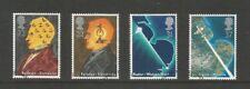 GB 1991 Scientific Achievements Fine Used Set SG 1546/9