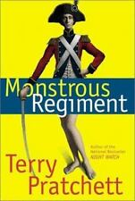 Monstrous Regiment by Terry Pratchett - Signed First Edition