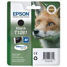 2 CARTUCHOS  EPSON T1281 NEGRO ORIGINAL %