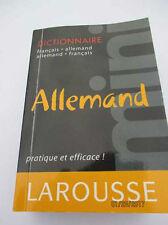 MINI DICTIONNAIRE FRANCAIS ALLEMAND LAROUSSE