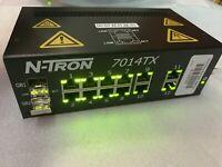N-TRON 7014TX 14 PORT ETHERNET SWITCH 10-30V-DC DC Ntron