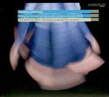 MARIN MARAIS  pièces en trio  AUX PIEDS DU ROY, D. BORNER, M. FORM / DIGIPACK
