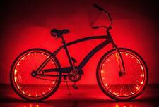 LED Bicycle Rim Lights Bike Wheel Light String High Visibility for Safe Cycling