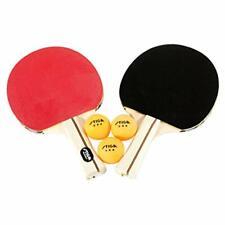 Stiga Performance 2 Player Set Ping Pong Racket New Table Tennis 3 Paddle Sport