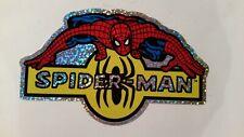 SPIDERMAN--NEW--Vintage (2002) Prismatic Vending Machine Sticker (#78N)