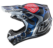 TROY LEE DESIGNS TLD SILVER SKULLY POLYACRYLITE MIPS MTB HELMET size SMALL S