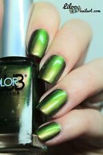 Color Club Oil Slick 2015 Dont' Kale My Vibe Nail Polish Nail Lacquer
