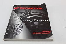 HONDA 2001 CB250 OEM SERVICE REPAIR MANUAL 61KPJ00