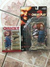 Childs Play 2 Chucky doll Movie McFarlane plus used the killer DVD Collection