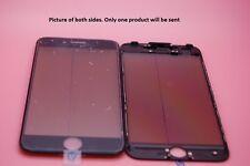 NEUF TECH iPhone 7 Écran noir verre, cadre, OCA Colle, Polarisant pré-installé