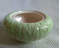 green leaf styled Carlton Ware registered Australian design 1618 bowl