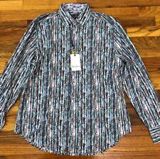 NWT Robert Graham Beeler Paisley Classic Fit Long Sleeve Shirt $198 M