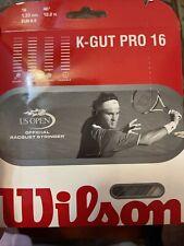 Wilson K-Gut Pro Tennis String - 16 Guage multifilament