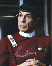 Leonard Nimoy Star Trek II: The Wrath of Khan Mr. Spock Autographed Picture #3