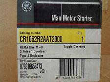 GE Manual Motor Starter Nema Size M 600 Volts