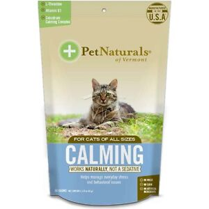 Pet Naturals of Vermont - Calming for Cats - Wheat Free 1.5oz Bag