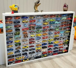 120 Model Matchbox Corgi Toy Die Cast Car Vehicle Display Frame Rack Stand Tidy
