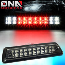 FOR 2010-2014 FORD F-150 2-ROW LED THIRD 3RD TAIL BRAKE LIGHT CARGO LAMP SMOKED