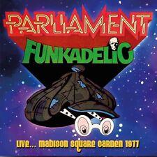 PARLIAMENT-FUNKADELIC - LIVE,, SQUARE GARDEN 1977 (180GR,BLUE LP) VINYL LP NEUF