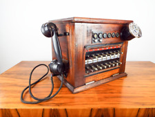 Vintage 1920s Hotel Telephone Switchboard Exchange Telecommunication Arabic Dial