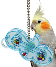 0004 THE WAVE SM BIRD TOY cage toys cages bulletproof cockatiel parrotlet Lucky