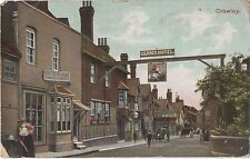 POSTCARD  CRAWLEY  High Street