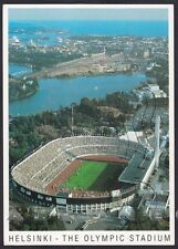 FINLANDIA HELSINKI Suomi Finland ESTADIO STADIO STADIUM CALCIO Cartolina 1995